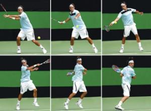 Forehand Tennis Racket Shot - Khelmart.com