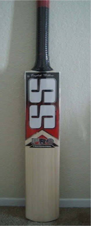 SS Cricket Bat English Ton Professional @ Khelmart
