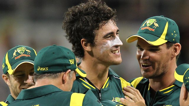 india and australia Cricket test match  series mitchell-starc