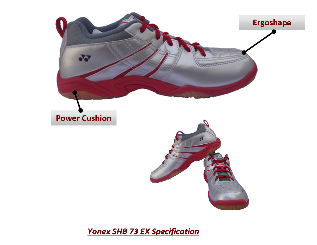 Yonex Badmintin Shoes SHB 73 Ex @Khelmart Yonex Badminton Shoes ,Badminton SHoes