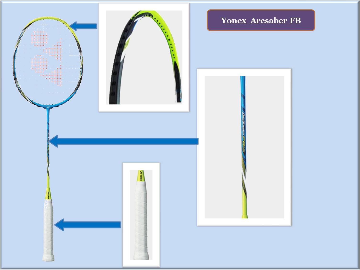 Yonex arcsaber FB Badminton Racket images