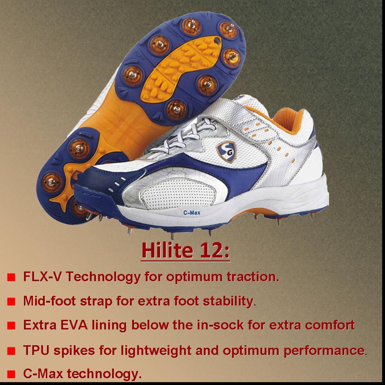 Convertible  SG Cricket Shoes -3