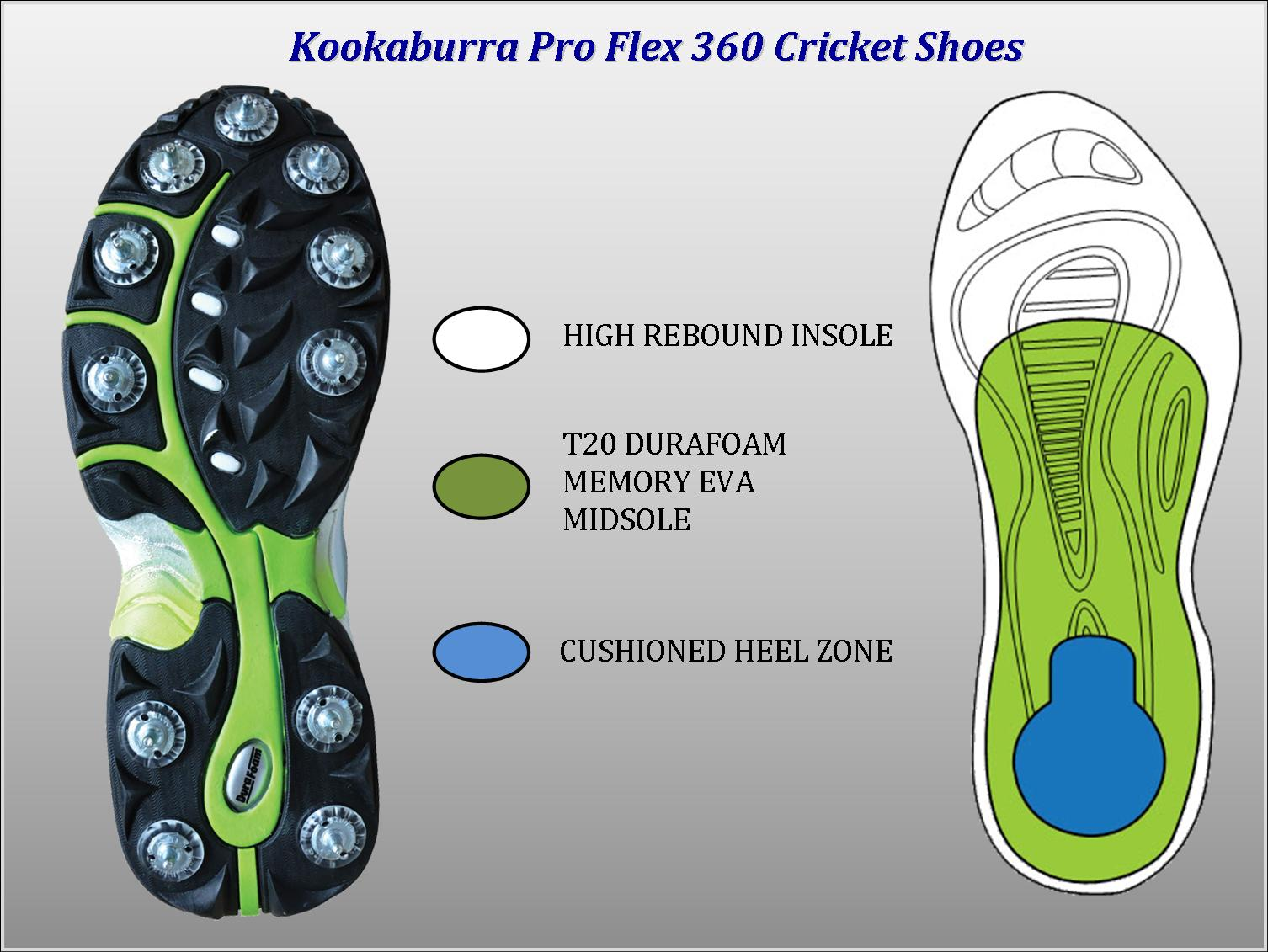Cricket shoes Technology
