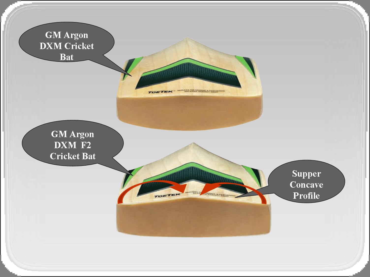 GM Cricket Bats Argon -2