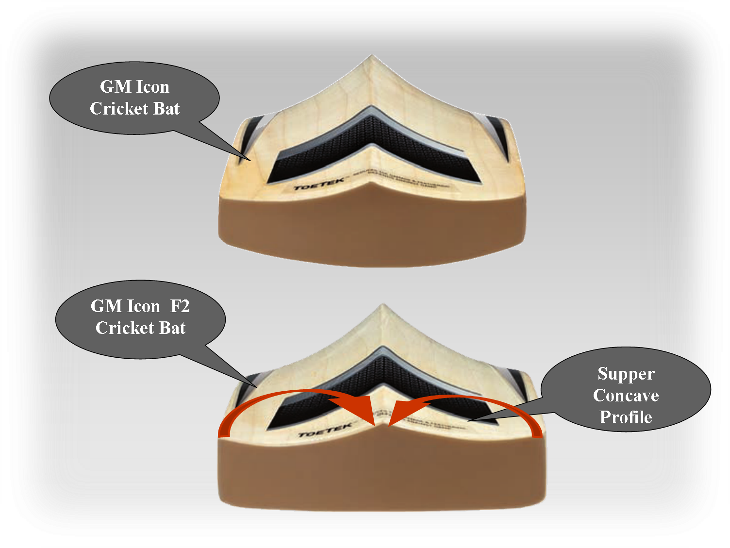 GM Cricket Bats ICON -2