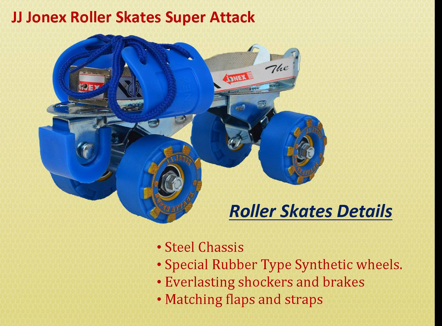 JJ Jonex Roller Skates Super Attack