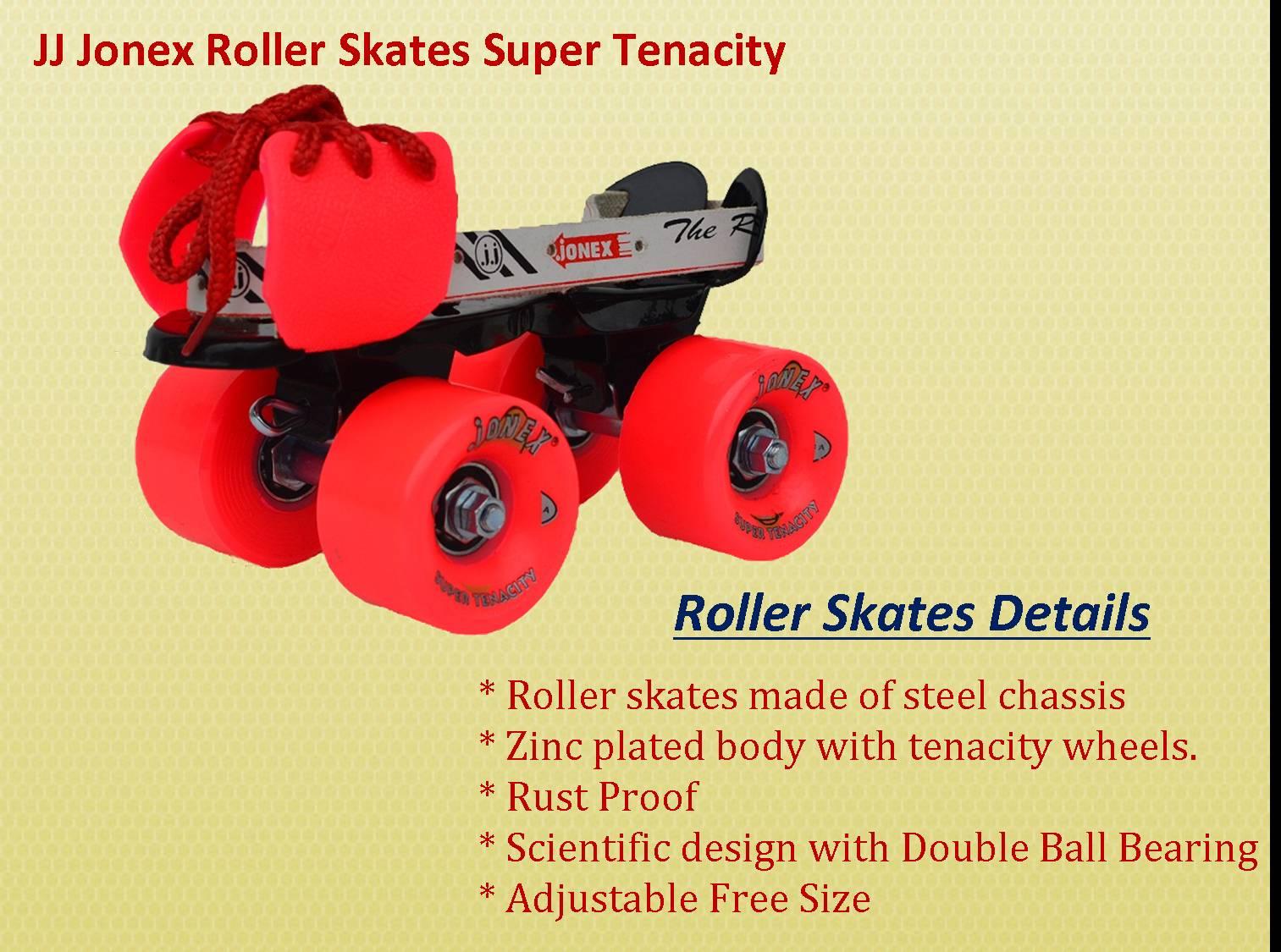 Roller Skates JJ JONEX Super Tenacilty
