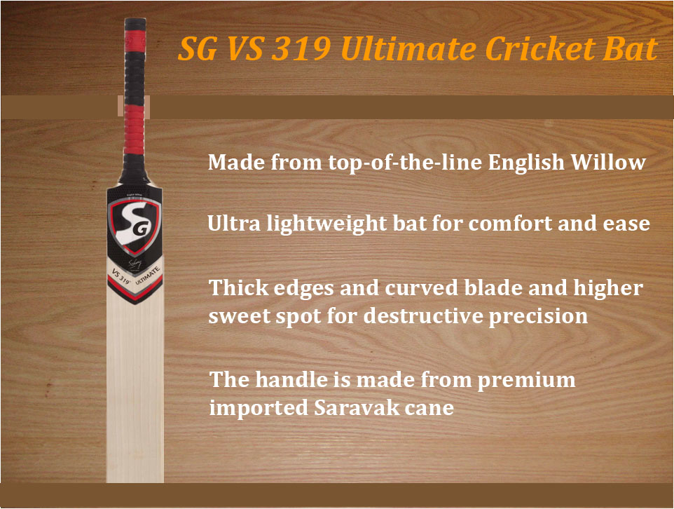 37e21edce87 SG English Willow Cricket Bats – Best Collection