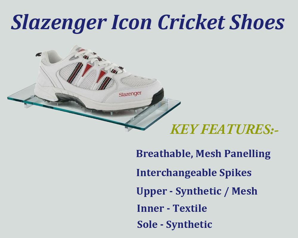 Slazenger Icon cricket shoes