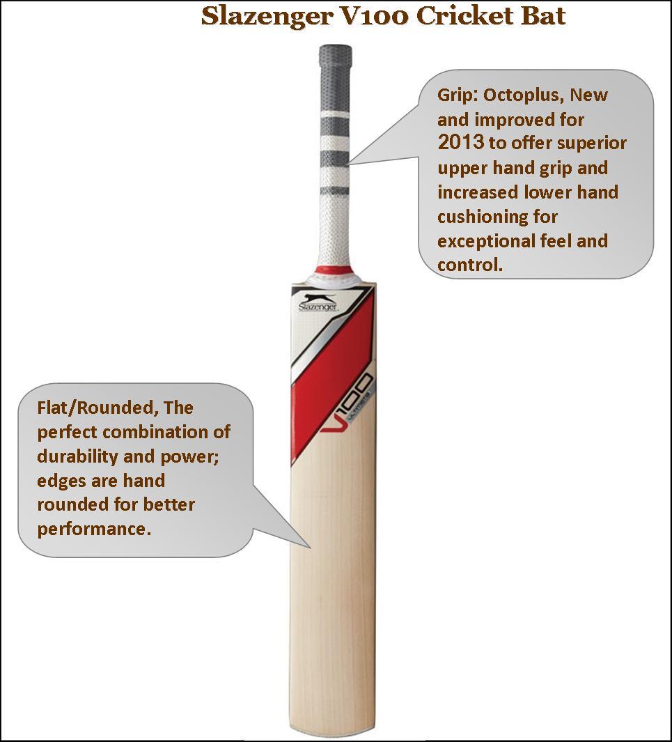 Slazenger V 100 Cricket Bats
