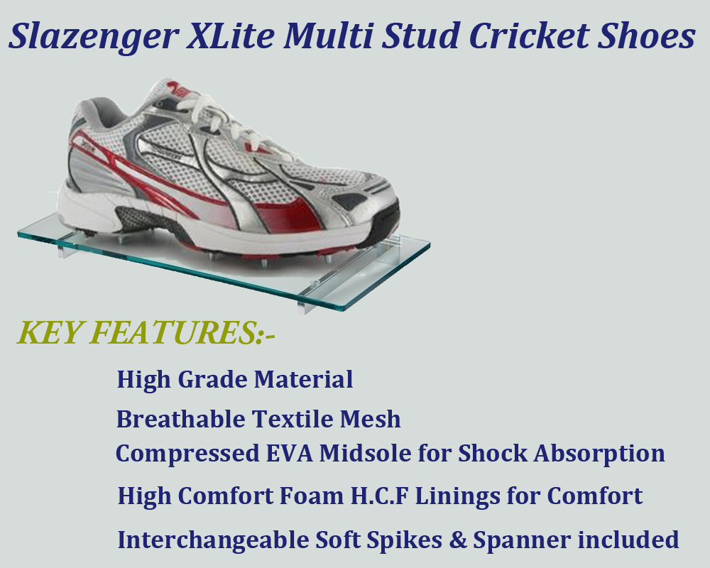 Slazenger Xlite Multi Stud cricket shoes