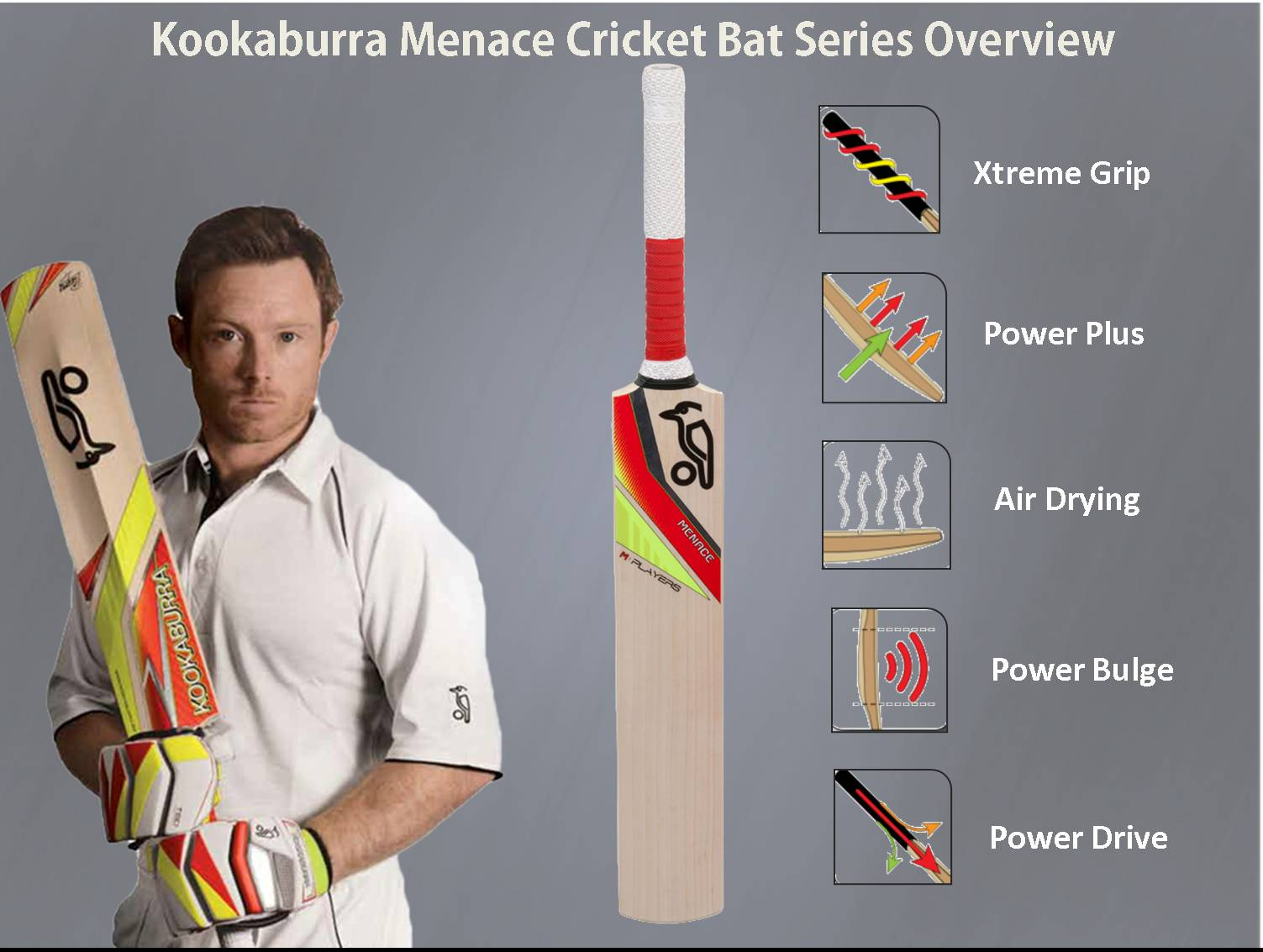 kookaburra cricket bats Menace ,kookaburra Menace  cricket bats