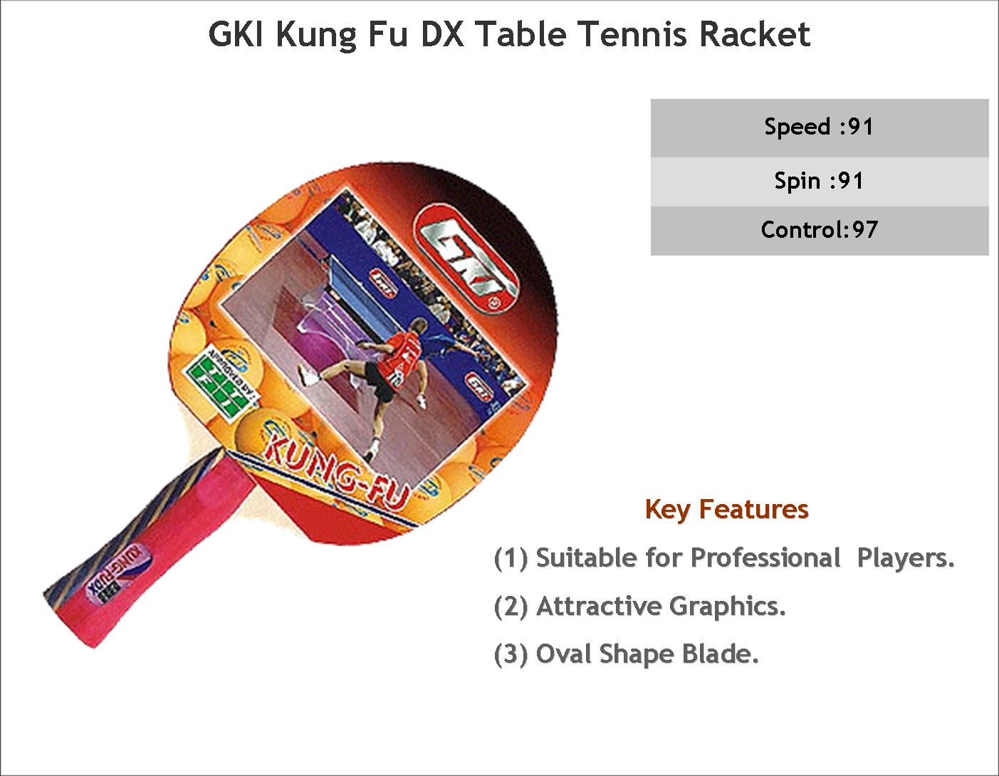 GKI Table Tennis Kung Fu DX