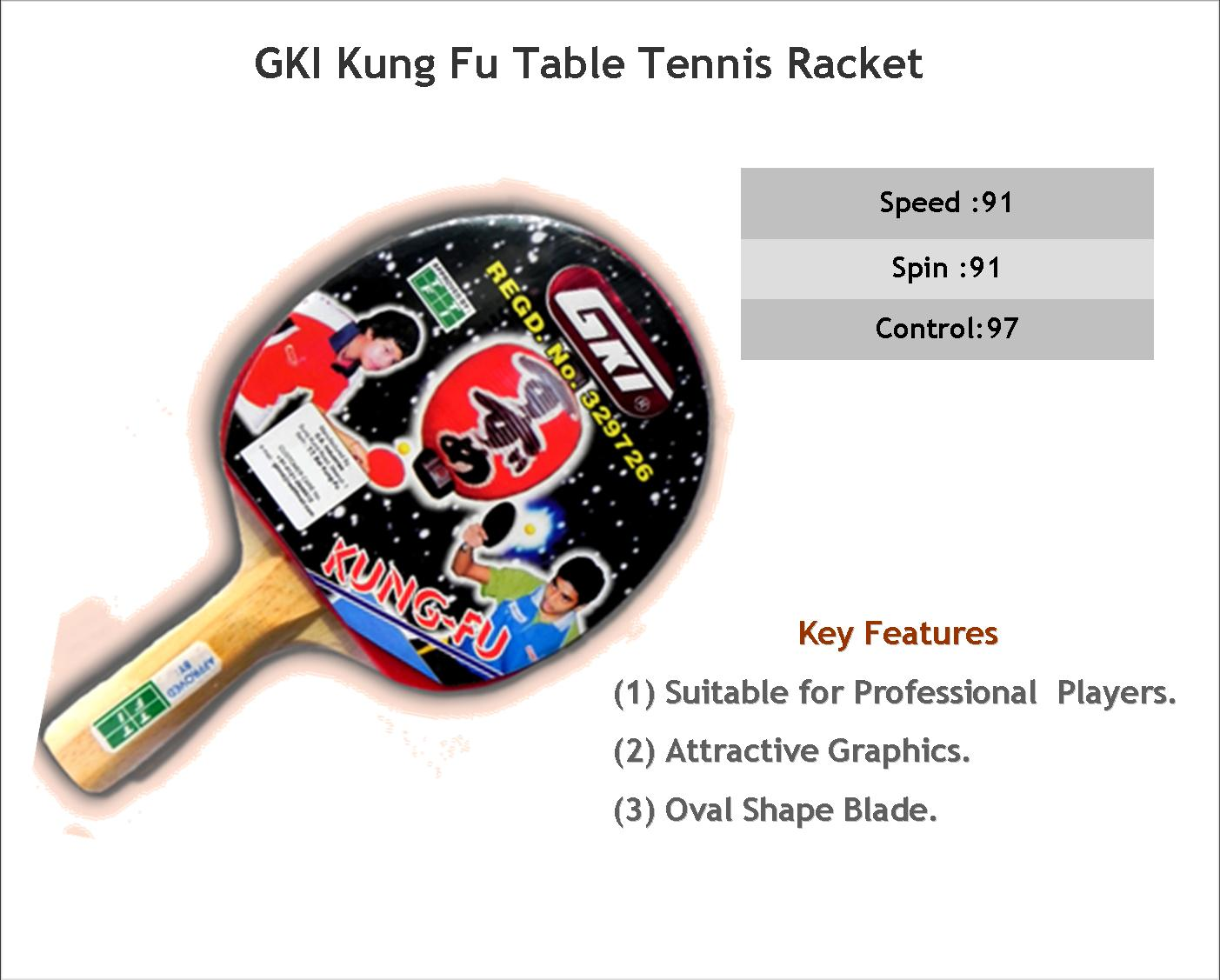 GKI Table Tennis Kung Fu