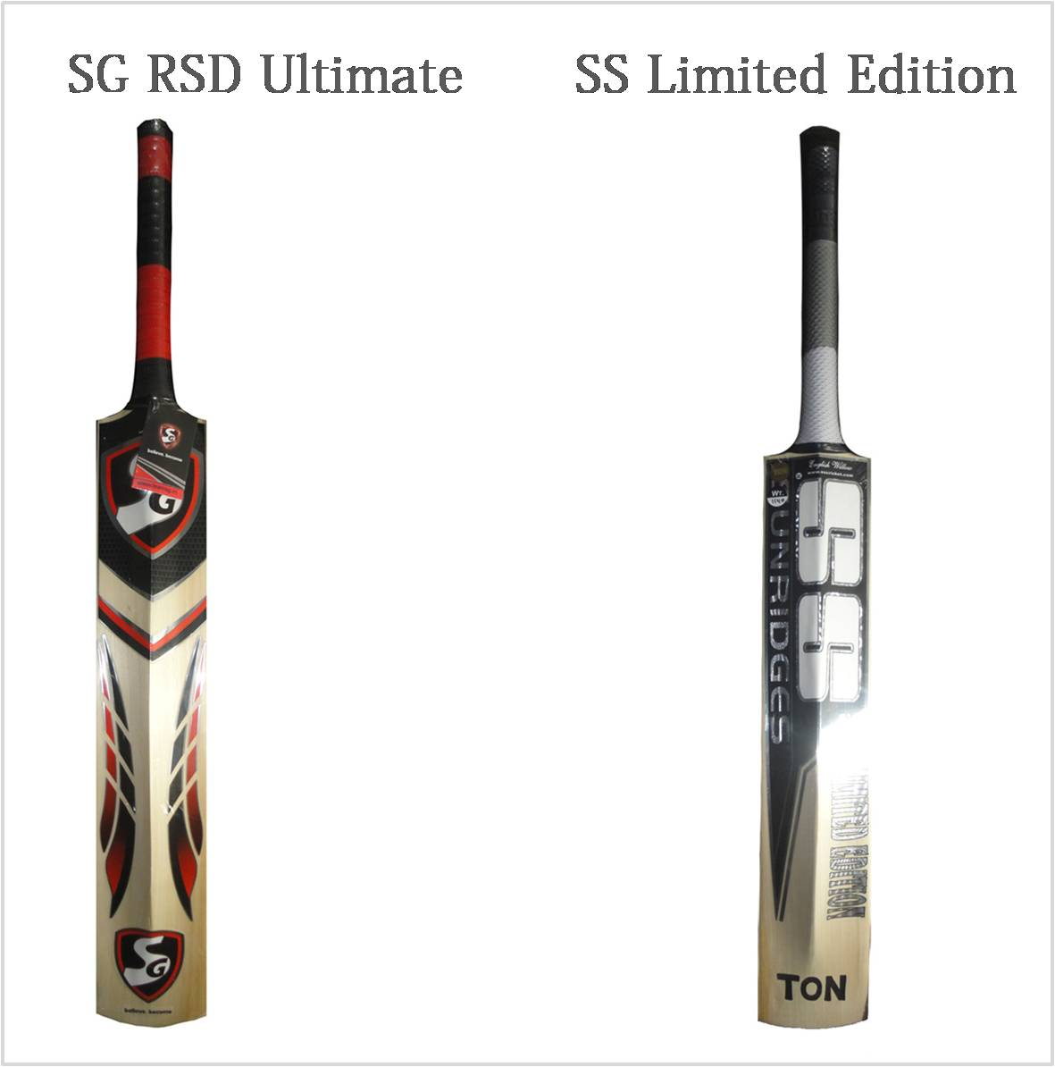SS Cricket bats Vs Sg Cricket Bats 2