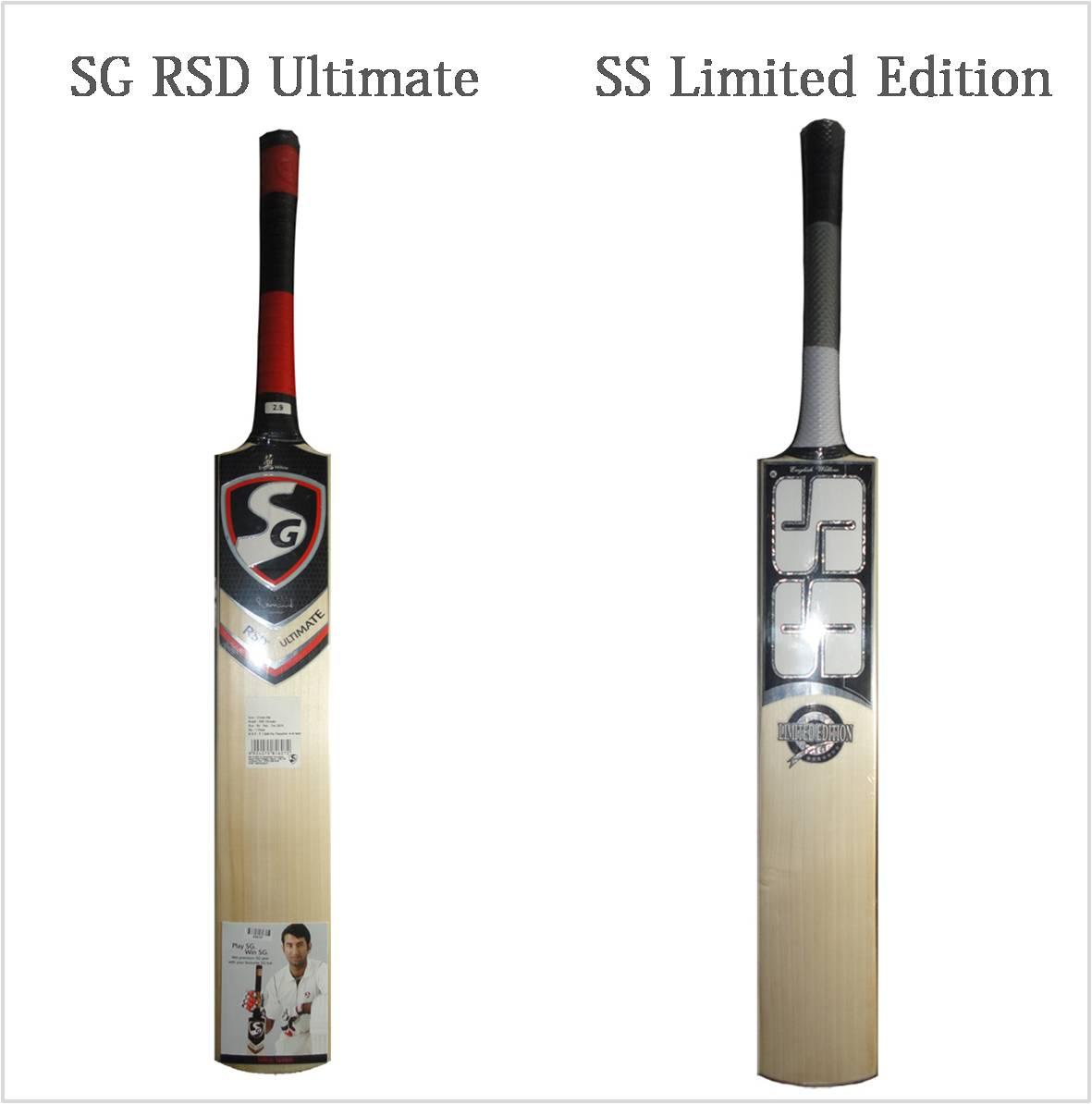 SS Cricket bats Vs Sg Cricket Bats