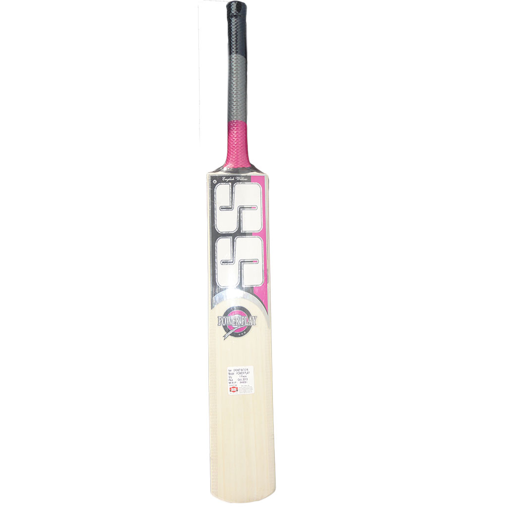 SS Power Play Ton English Willow Cricket Bat