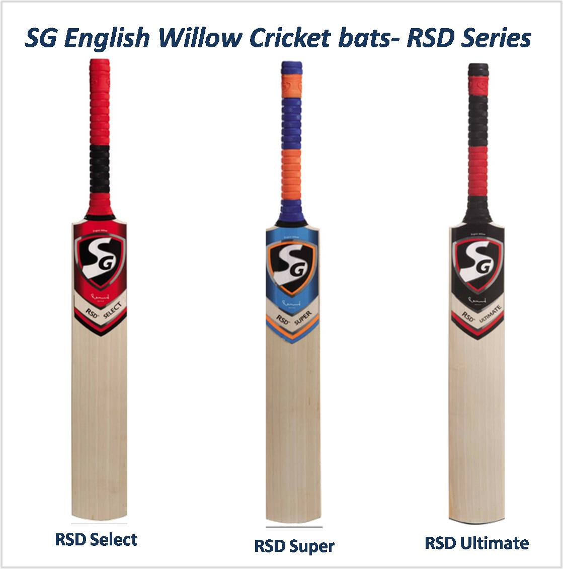 SG English Willow Cricket bats- RSD Series New