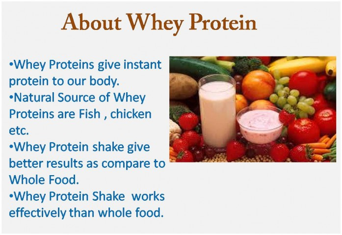 About Whey Protein