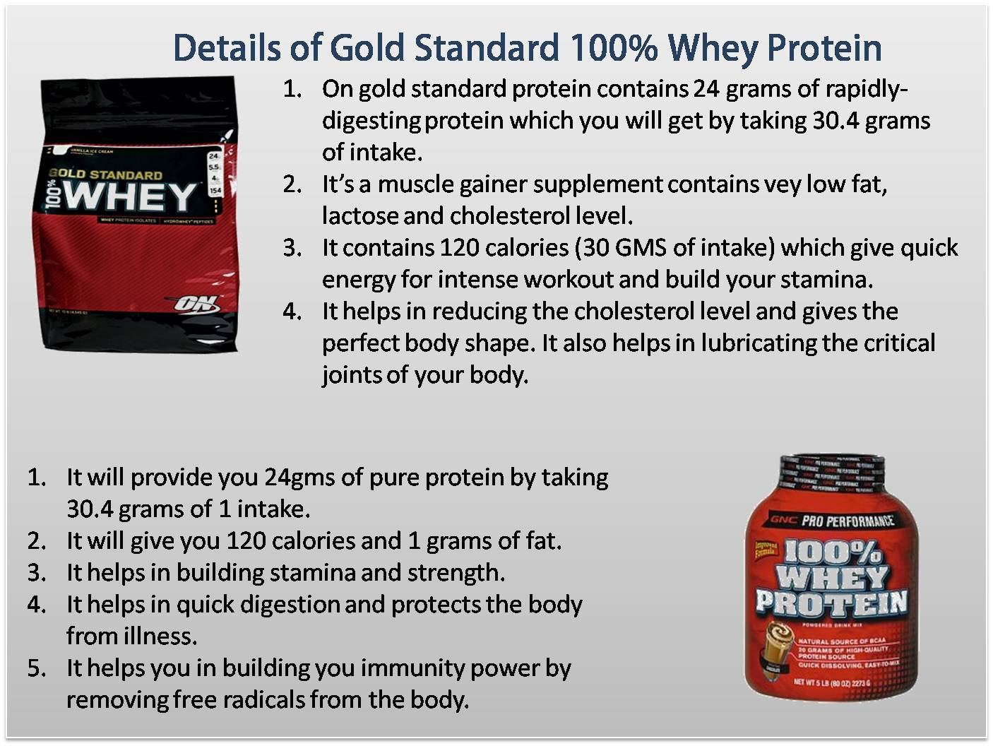 Gold standard whey protein side effects : 5 ingredient