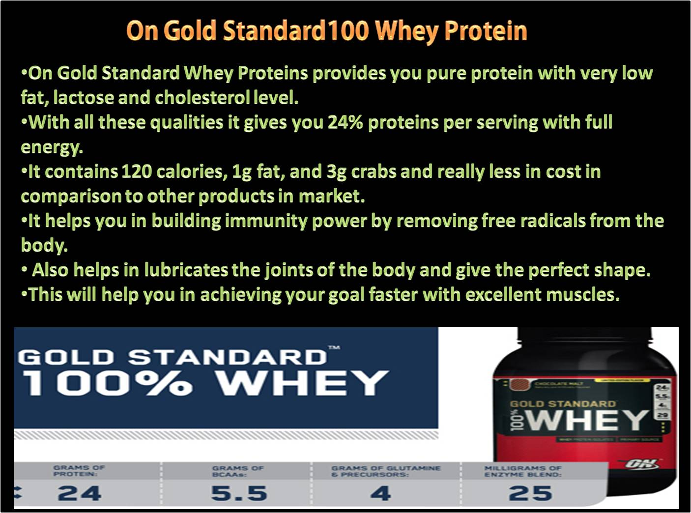 On gold standard proteins