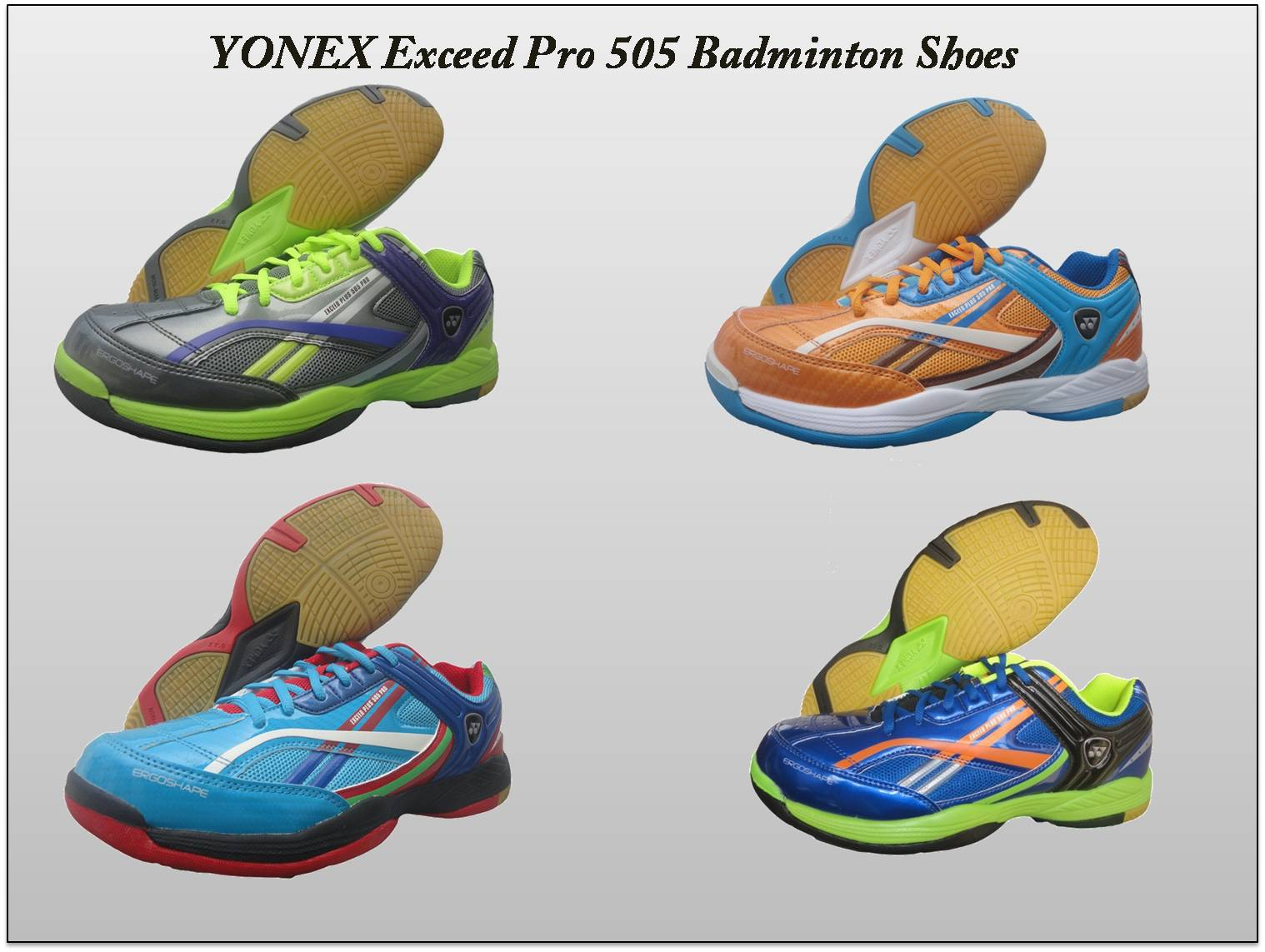 YONEX Exceed Pro 505 Badminton Shoes fround view