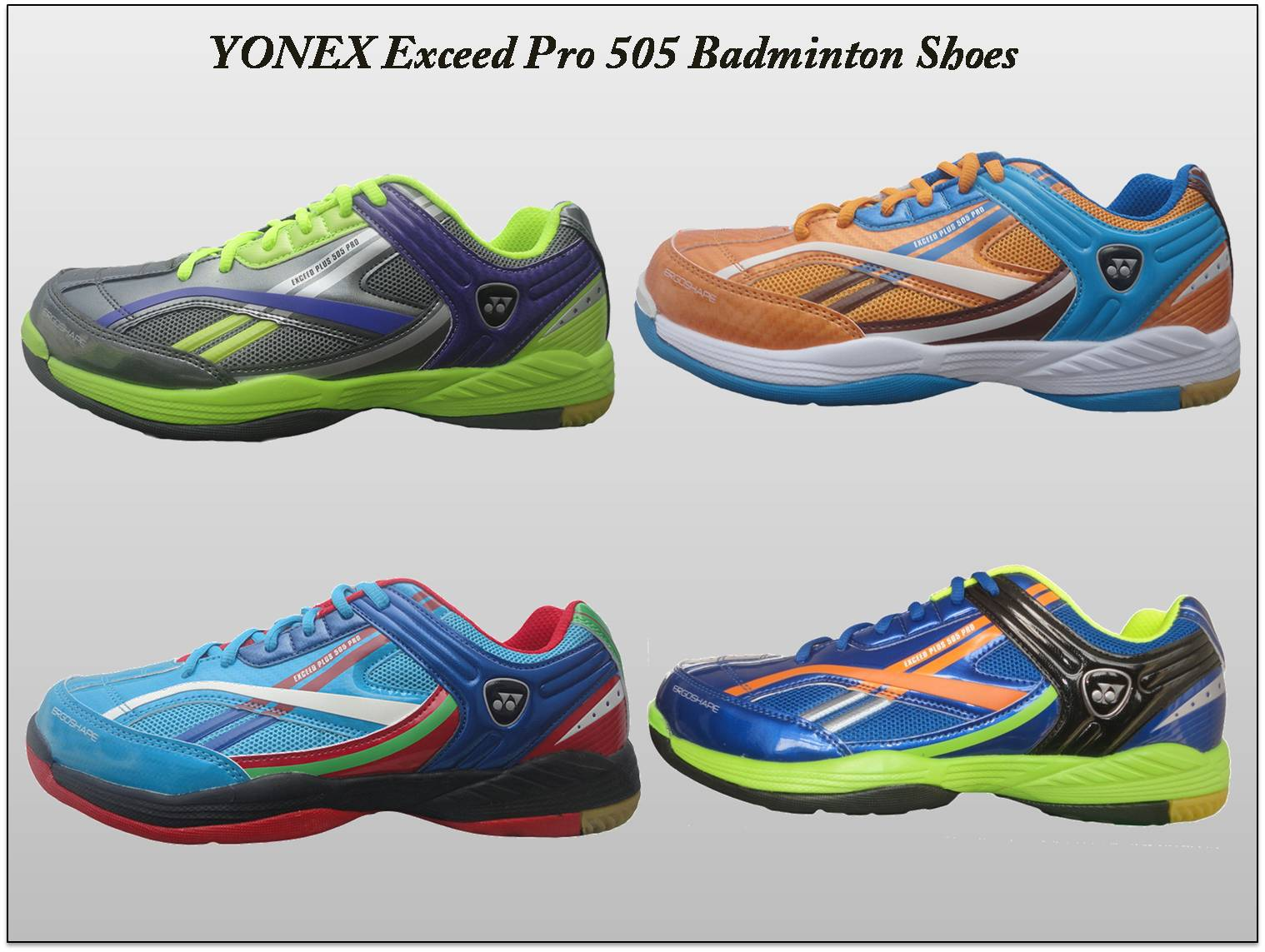 YONEX Exceed Pro 505 Badminton Shoes side view 1