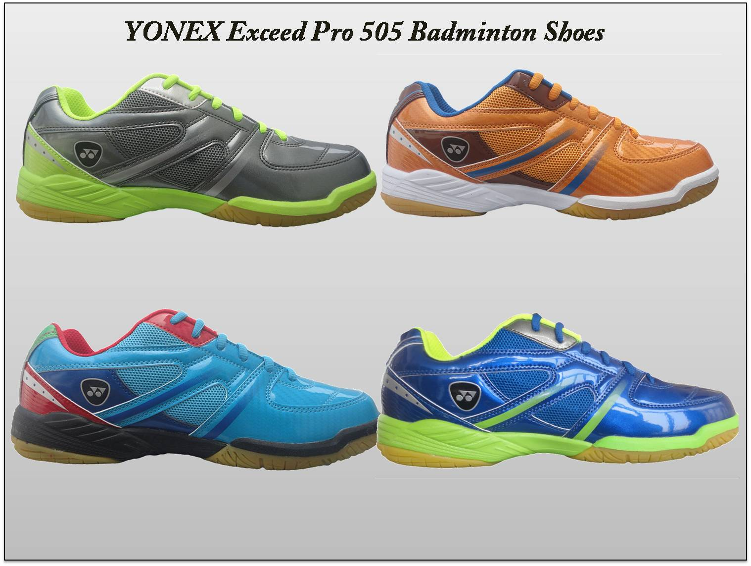 YONEX Exceed Pro 505 Badminton Shoes side view 2