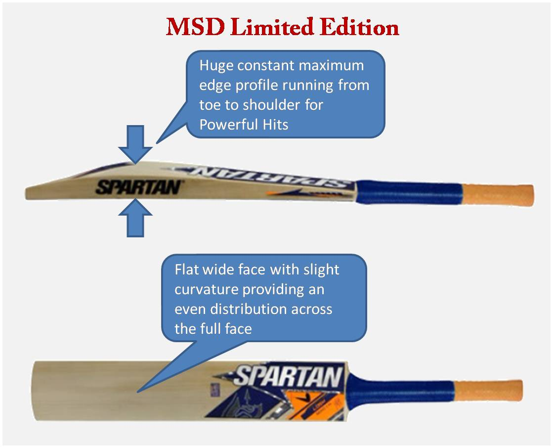 Spartan MSDLimited Edition Cricket Bats