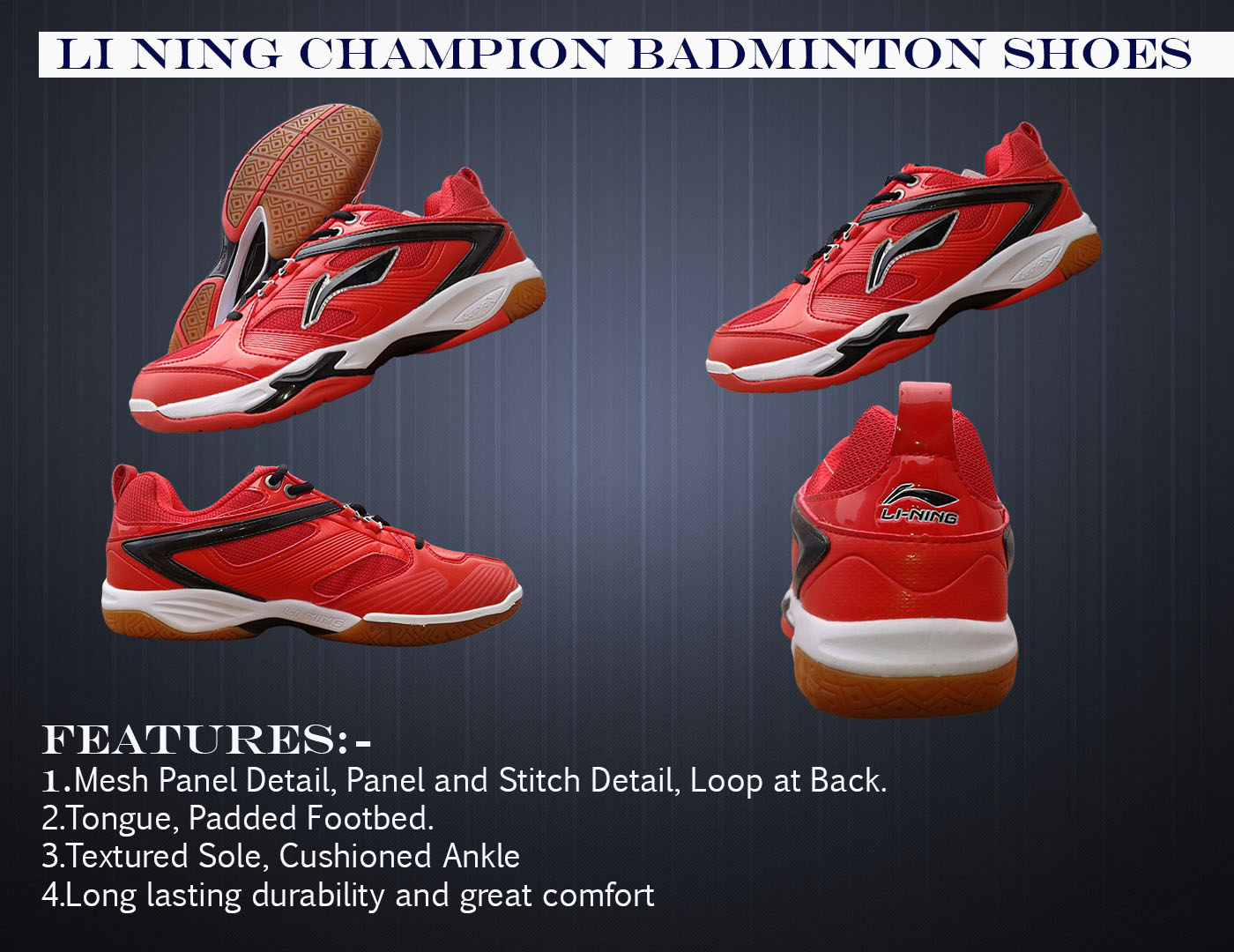 Li-Ning Champion Badminton Shoe