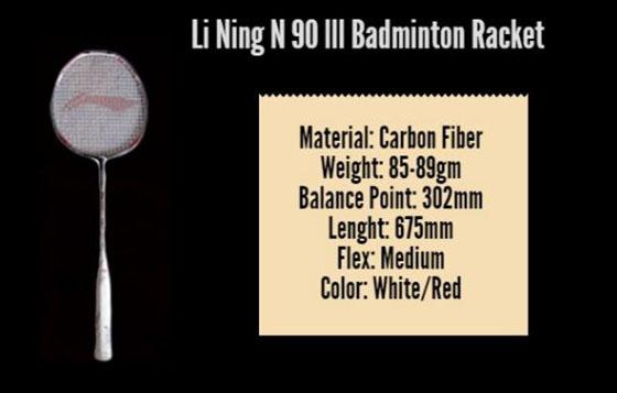 Li ning N90 lll Badminton Racket