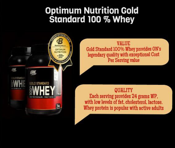 Optimun Nutrition Gold Standard 100%  Whey