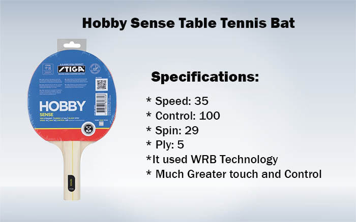 Hobby Sense Table Tennis Bat