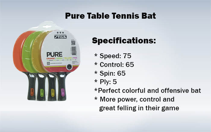 Pure Table Tennis Bat