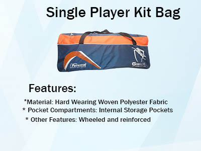 Single Player Kit Bag