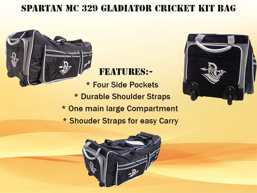 Spartan MC 329 Gladiator Cricket Kit Bag