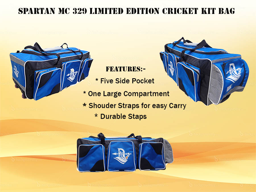 Spartan MC 329 Limited Edition Cricket Kit Bag