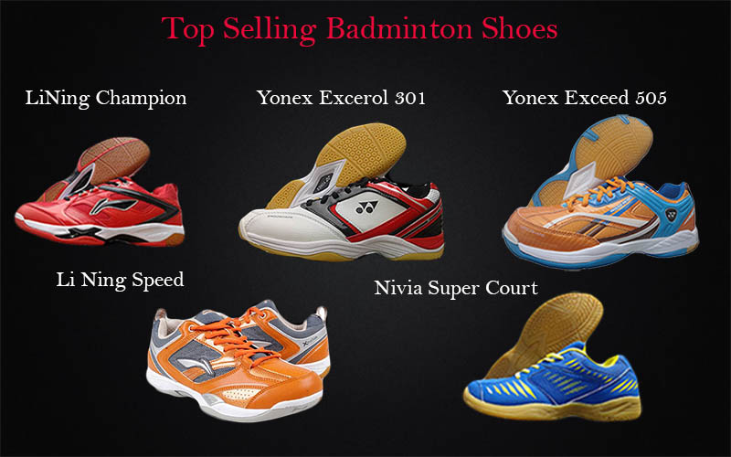 top selling badminton shoes