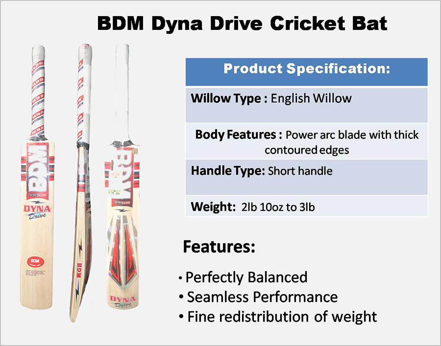 Dyna Drive BDM  cricket bat