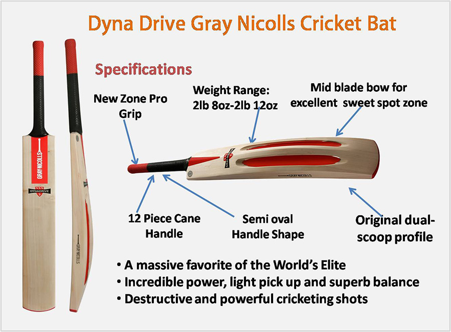 Dyna Drive Gray Nicolls Cricket Bat