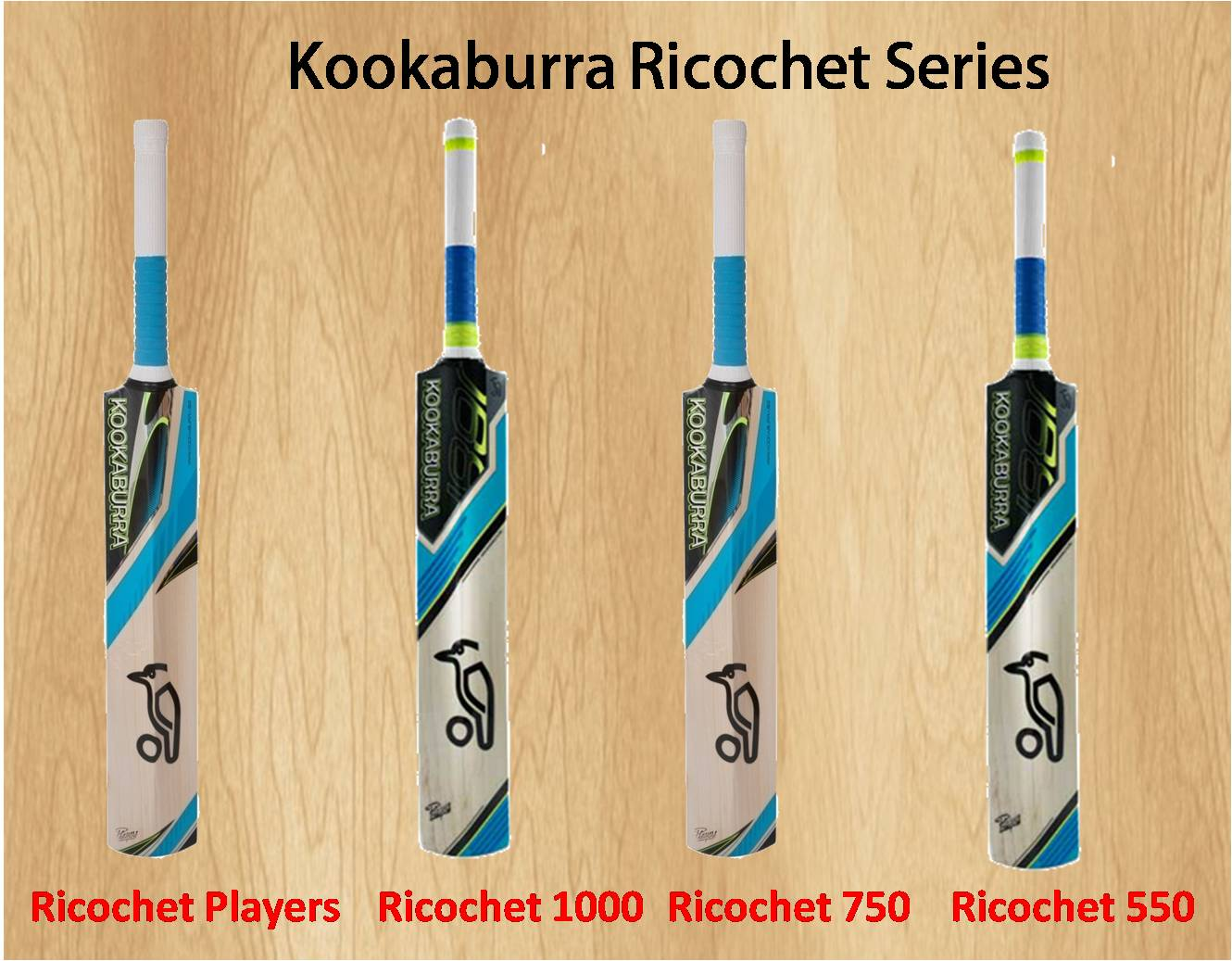 Kookaburra Ricochet Series Cricket Bat