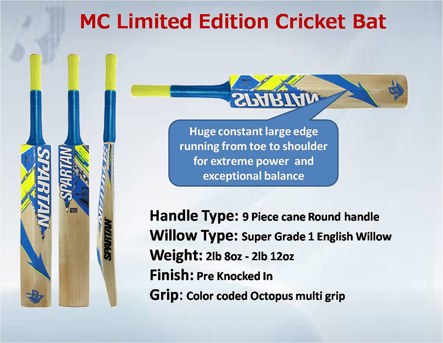 Spartan MC Limited Edition Cricket Bat