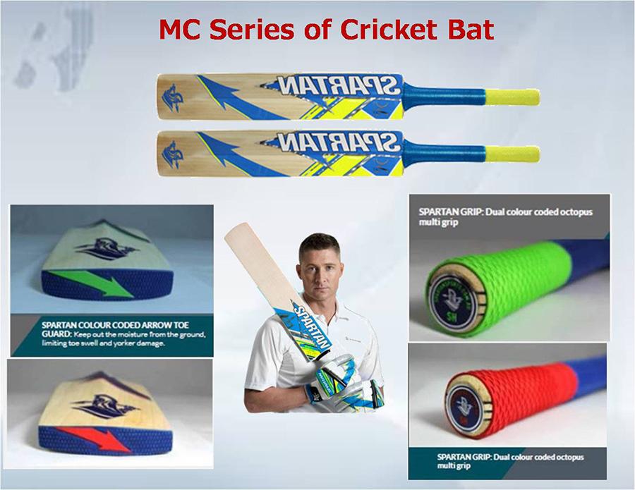 Spartan MC Series of Cricket Bat