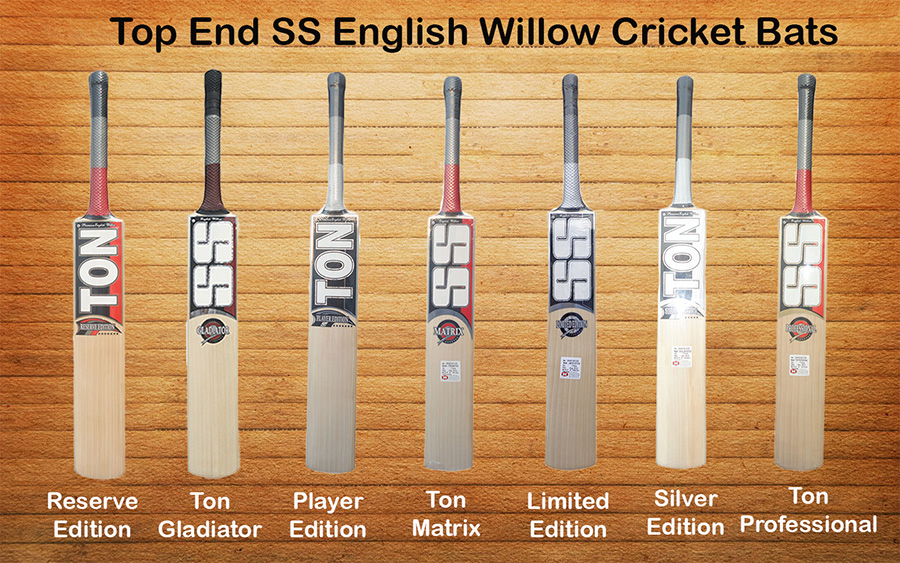 Top End SS English Willow Cricket Bats