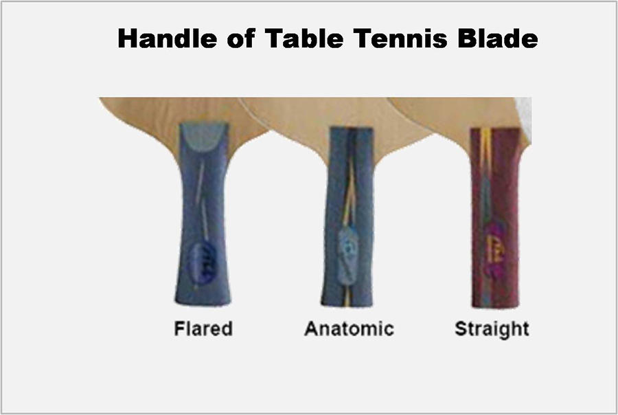 Handle of Table Tennis Blade