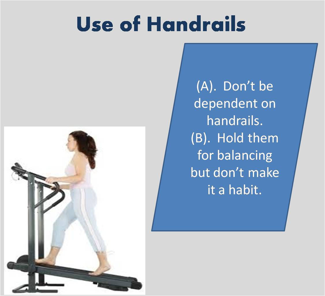 Use of Handrails