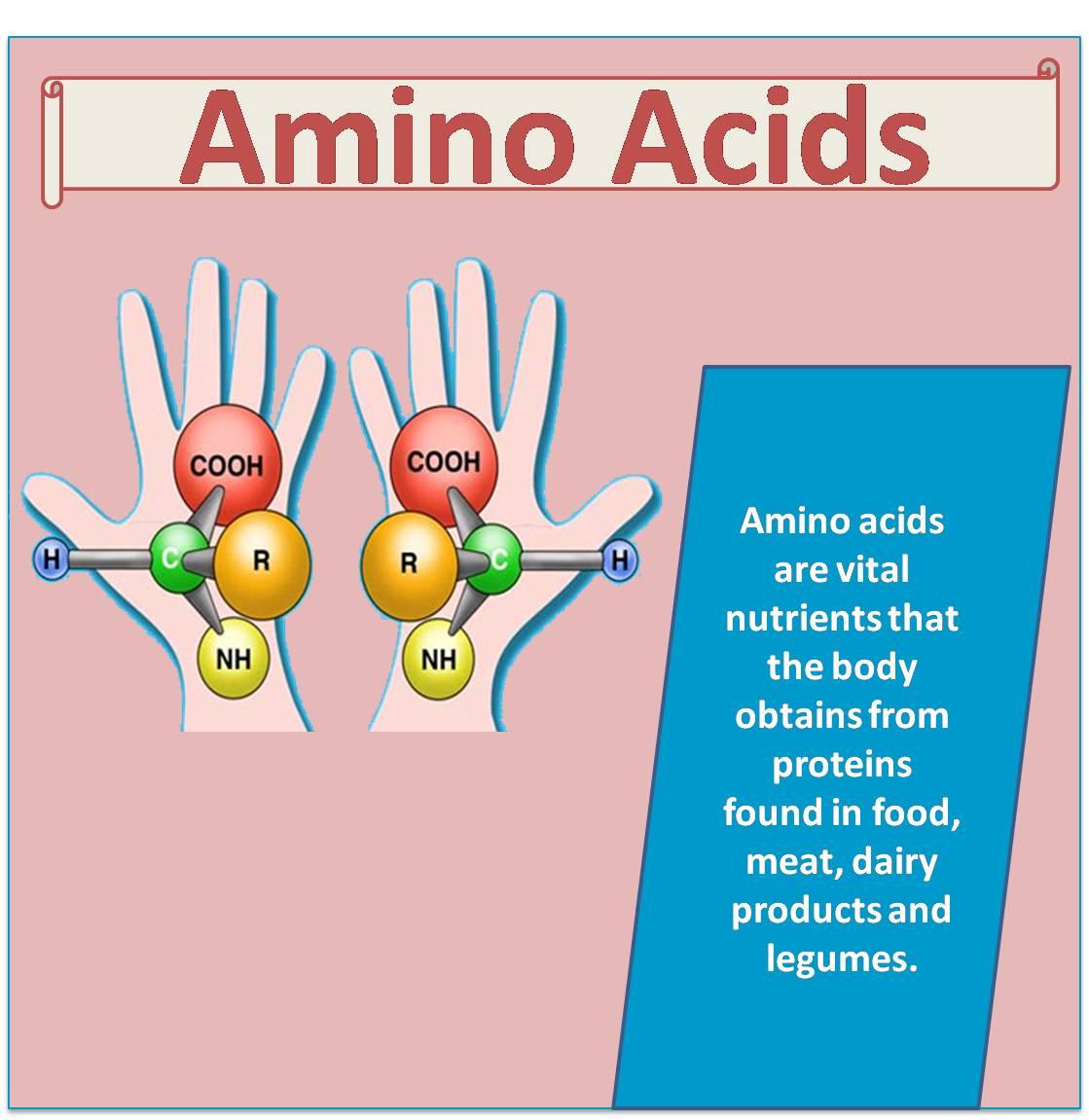 Benefits of amino acids supplements