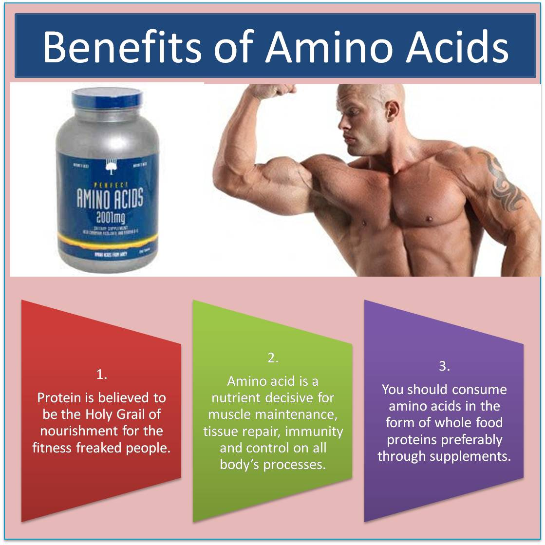 Benefits of Amino Acids