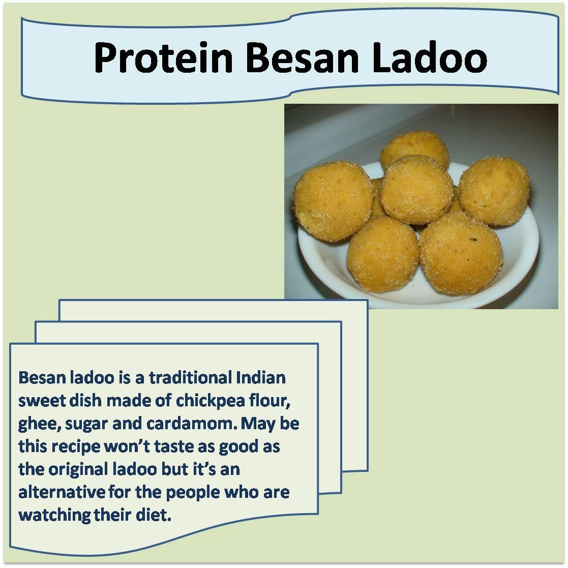 Protein Besan Ladoo