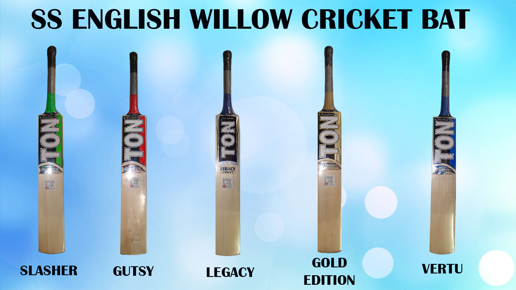 SS English willow cricket bat in Year 2015